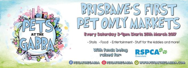 pets at the gabba, dog friendly market, market launch, free, free entry, woolloongabba, the gabba, southside, southern suburbs, brisbane, rspca, charity, fundraiser, aloha hound, bobos pet emporium, boutique birds, cherry pie delights, coopers collars, dk stainless, dogtainers, east coast pets, fluppies, frankie and emmett, golden bone bakery, have 2 have festival, k9 cakes, two feet and four paws, toffs treats, for laterz, suburban pup, rosie and co, qld staffy rescue, pets in peace, pet cloud, pawsitive paws, norher exposure gig racing club, nomnompets, fly ball, coffee, food trucks, coffee, handmade, small businesses, local businesses, dog treats