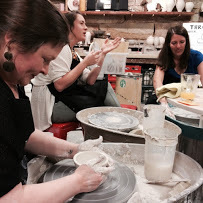 Pottery Classes in an intimate setting with small classes (4-6 people).