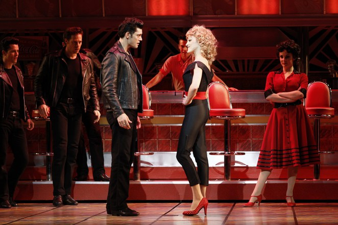 Rob Mills Gretel Scarlett Grease The Musical Grease Is The Word Australia. Opening night Grease Melbourne