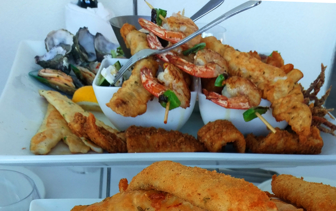 Sammy's on the Marina Glenelg Adelaide Seafood Platter Summer Holiday Tourist Sea Ocean Jetty Road Holdfast Bay