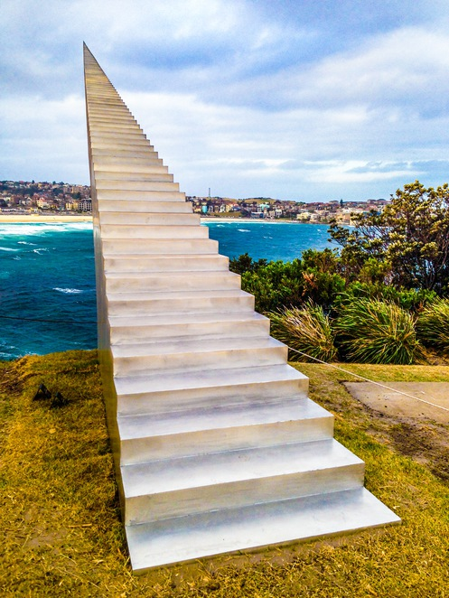 Sculpture by the Sea - Stairway to Heaven (photo by Adrian Kmita)