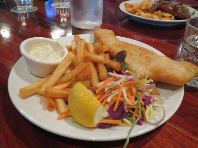 Slug N Lettuce $9.90 Meals, Coopers Pale Ale Battered Fish, Adelaide