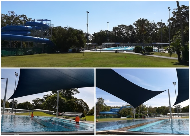 tomaree aquatic centre, port stephens, nelson bay, school holidays, slide, swimming lessons, pools, families, kids, children, things to do in nelson bay,