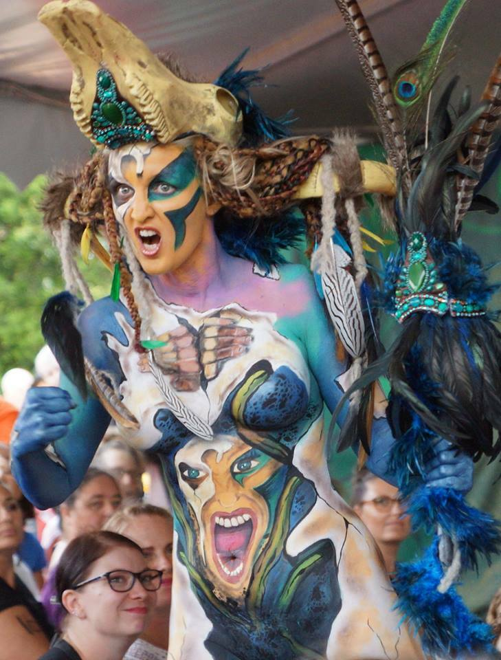 2019 Australian Body Art Festival Other Worlds Free For Spectators Sunshine Coast By Elaine