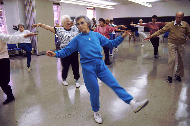 aerobic exercises for older people