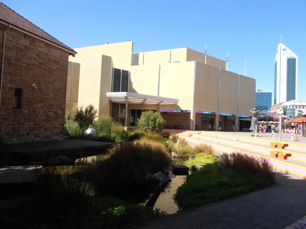 Art Gallery of Western Australia, Perth Cultural Centre, Northbridge.