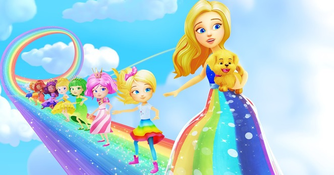 Barbie, Dream, Dreamtopia, Imagine, Imagination, Sky, Clouds, Princess, Doll, Dolls, Chelsea, Movie, Film, Animation, Rainbow, Rainbows