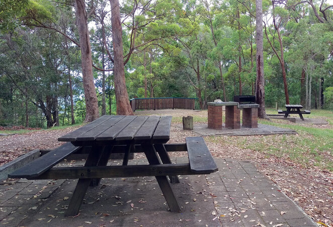 Camp mountain picnic area is a little old fashioned, but still a great place for a picnic or barbecue