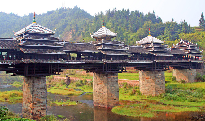 Chengyang Bridge, Sanjiang County, China