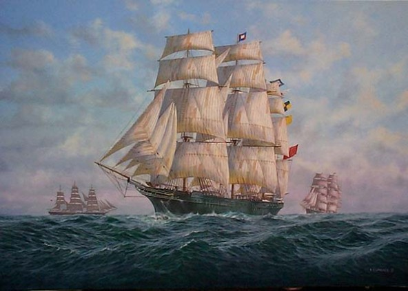 clipper ship city of adelaide