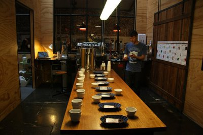 Coffee cupping seven seeds melbourne