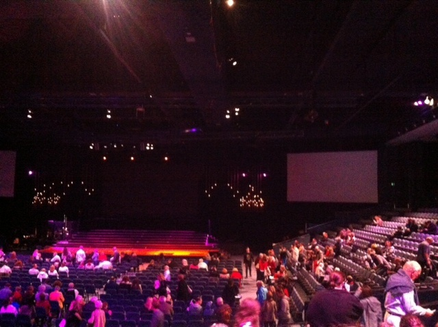Concert, hall, Hillsong, sing, dance, act, perform