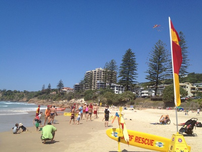 Coolum Beach is patrolled all year long