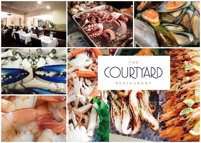 courtyard restaurant, canberra, mecure, ACT, easter buffet, good friday, whats on, seafood buffets in canberra, easter long weekend,