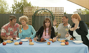 Da Vinci Code, Da Kath and Kim Code, Kath and Kim, Comedy, Australia, ABC, Channel 7, Telemovie, Kath and Kim Movie, Kel, Sharron, Brett, Cujo, Ebony