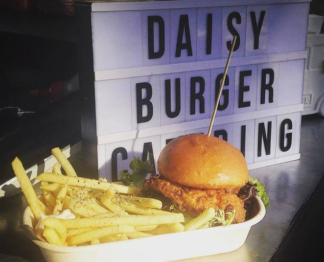 Daisy Burger, delicious, food festival, food truck, weekend, Morphet Vale footy oval, SA, Adelaide, Market to Market