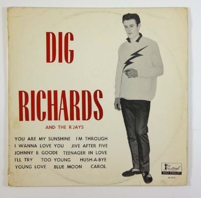 Dig, Richards, Rjays, record