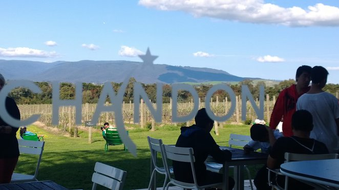 Domaine Chandon, Yarra Valley, winery, vineyard, Victoria