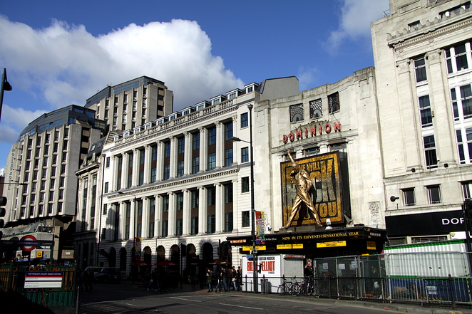 dominion theatre london freddie mercury
