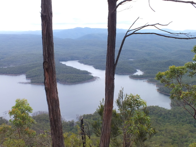 Panoramic View over Lake Burragorang