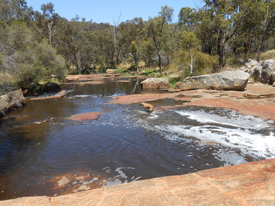 Noble Falls, Wooroloo Brook, Gidgegannup