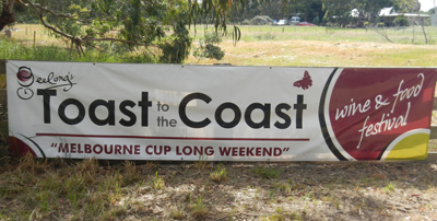 Geelong's Toast To The Coast 2012