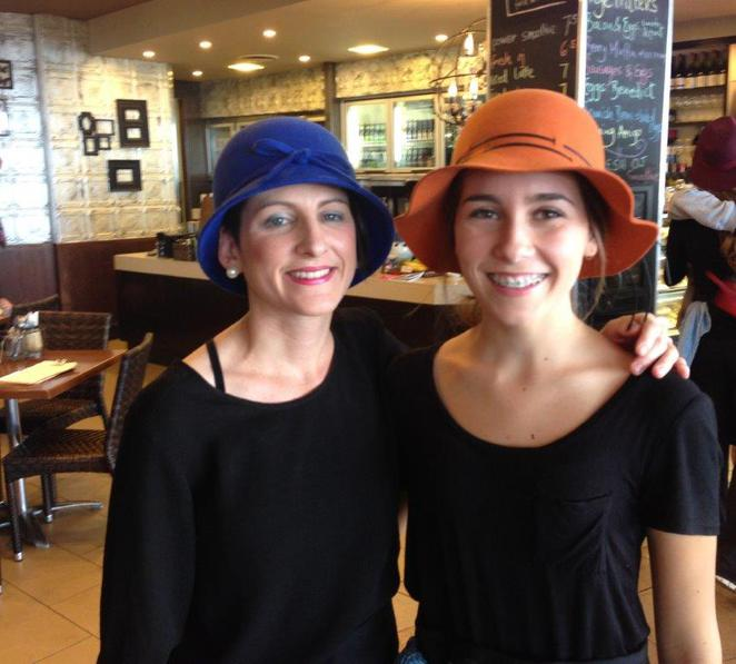 Entice Mooloolaba, chic hats, breakfast