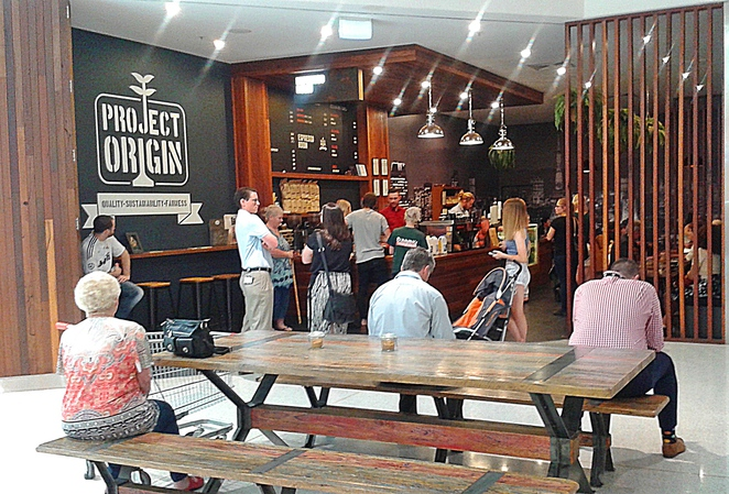 expresso room, woden westfield, belconnen westfield, tuggeranong hyperdome, coffee, ona, project origin, cafes, canberra, ACT,tuggeranong,