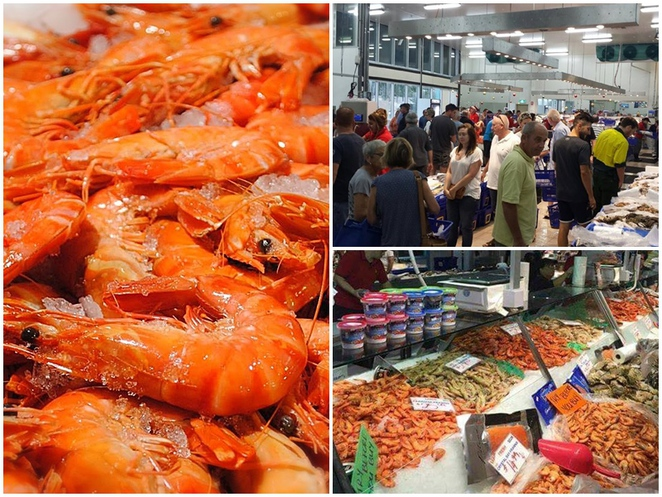 fishco downunder, canberra, fyshwick, belconnen, ACT, seafood, christmas, easter, fresh prawns,
