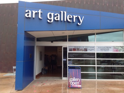 Gallery front entrance