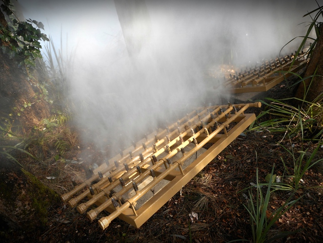 Fujiko Nakaya, fog sculpture, canberra, national gallery of australia, art, sculpture, public art