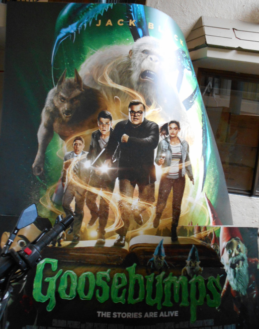 Goosebumps movie, Jack Black, R.L. Stine,