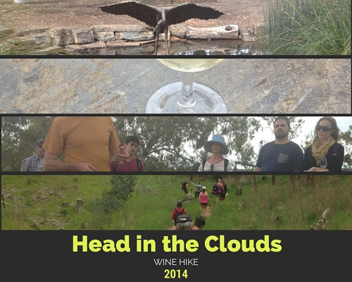 Head in the Clouds, wine hike, wine tasting, Adelaide