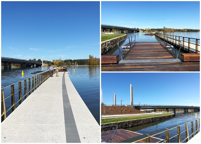 henry rolland park, canberra, lake burley griffin, ACT, BBQ areas, exercise equipment, captain cook memorial jet, lake burley griffin, commonwealth avenue bridge,