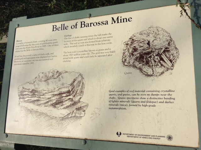 Information Board - Barossa Goldfields Walks