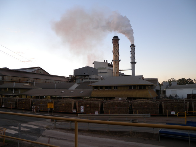 The Isis Central Sugar Mill in Childers was built in 1897
