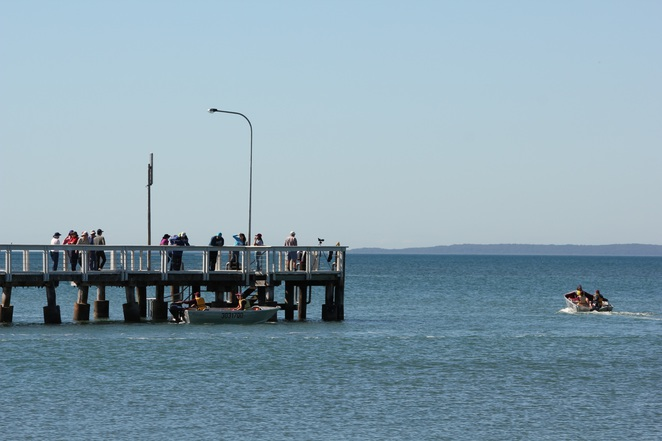 Wellington Point jetty
