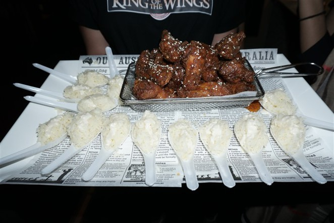 King of the Wings, Wing Week, Chicken Wings, Food Truck, Sydney Media Launch, The Observer Hotel