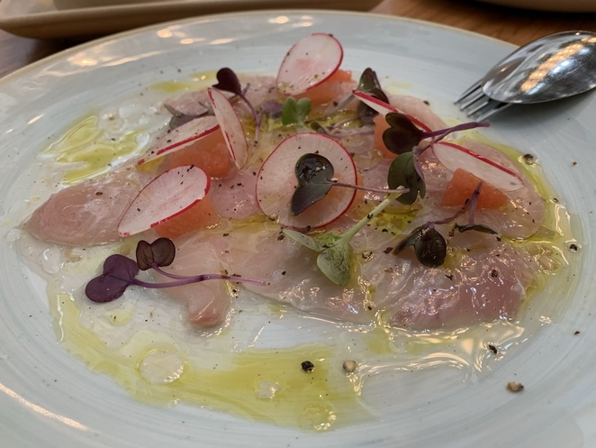 kingfish crudo