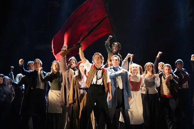 Les Miserables at the Capitol Theatre (photo by Adrian Kmita)