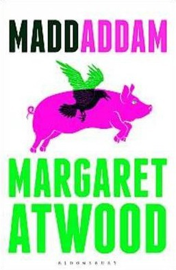 maddaddam, maddaddam trilogy, margaret atwood, science fiction, margaret atwood novels, oryx and crake, audio book