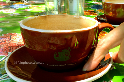 market foods, coffee, coffee to go, best coffee in Brisbane, market coffee, Brisbane markets