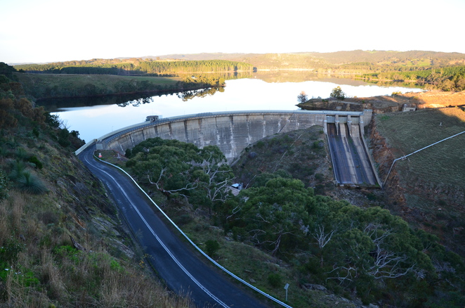 Myponga Reservoir, South Australia, lookouts