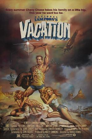 national lampoons vacation, movie, film, poster, chevy chase