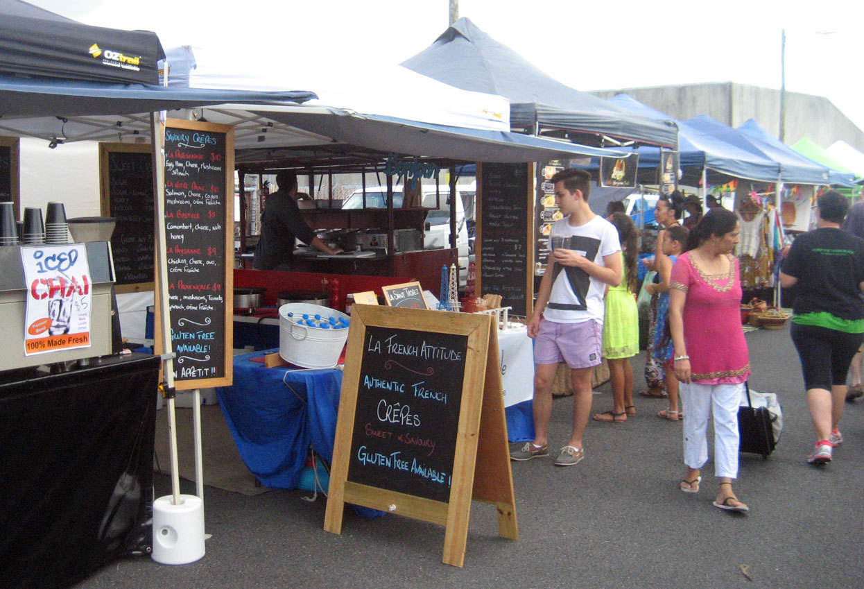 how to start a market stall brisbane