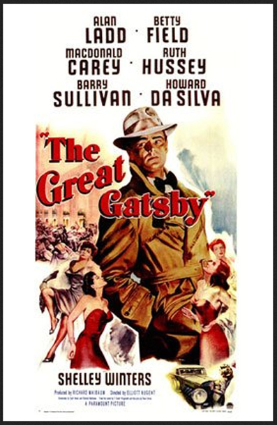 Original Theatrical Poster for The Great Gatsby 1949