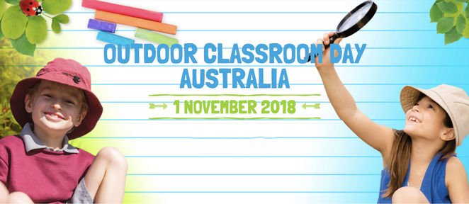 outdoor classroom day australia 2018, community event, fun things to do, educational fun for kids, aussie schools, lesson plans, posters, flyers, outdoor play, children's learning, the great outdoors, aboriginal meditation, dadirri, teachers take learning outdoors, improve children's behaviour, kids play and learn outdoors