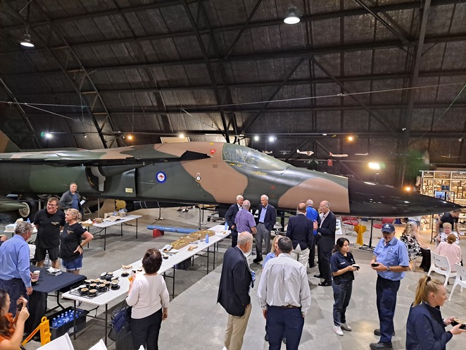 Photos: Lloyd Marken - The General Dynamics F-111C Aardvark affectionately known as 'The Pig'