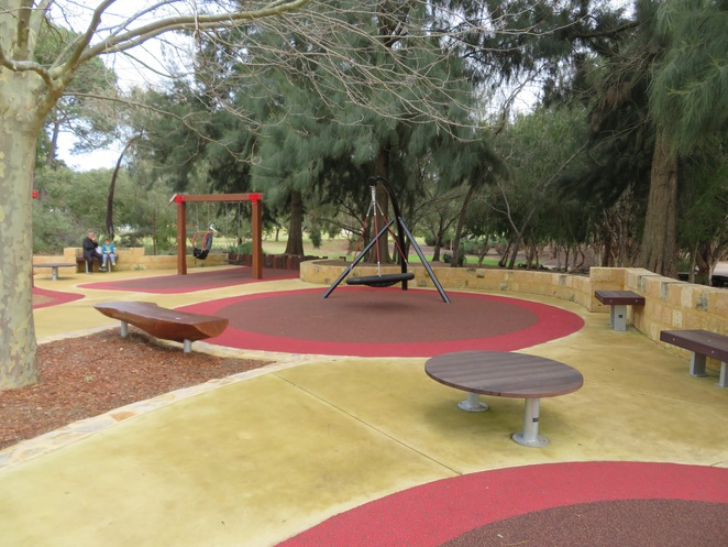 Piney Lakes Winthrop, Sensory playgrounds Perth, playgrounds south of Perth, playgrounds in Winthrop, Parks south of Perth