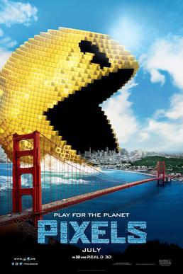 Pixels movie poster source wikipedia